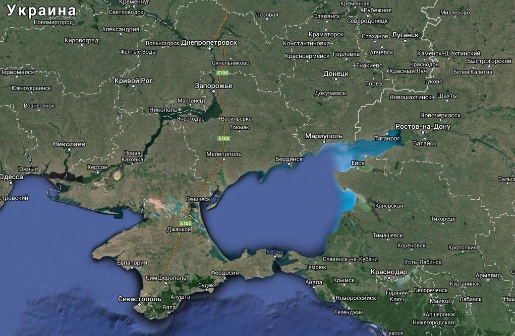 мост между Украиной и Россией