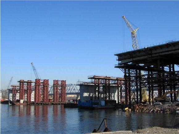 строительство 4 моста в Красноярске через Енисей