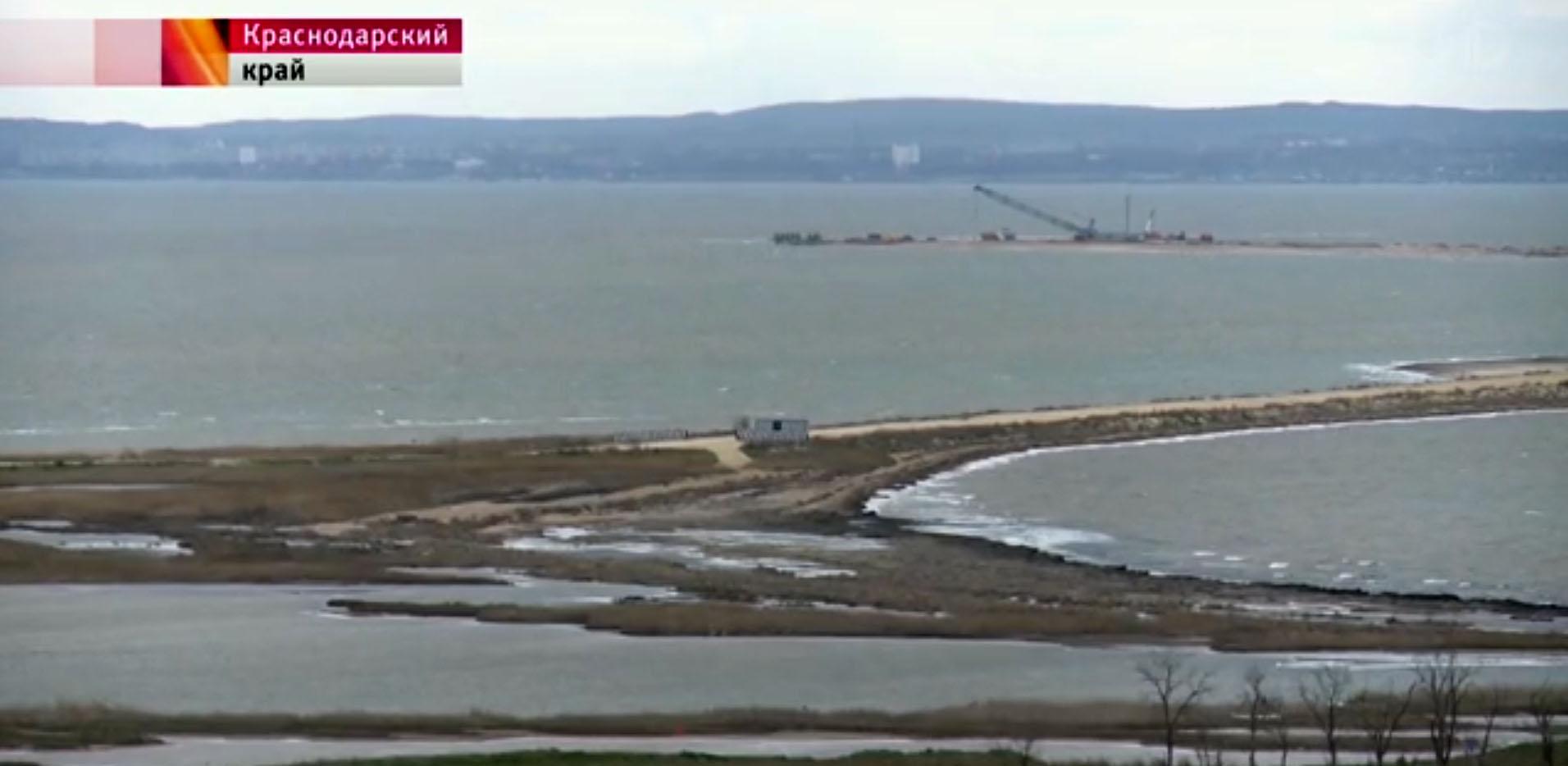 Подготовка к строительству керченского моста