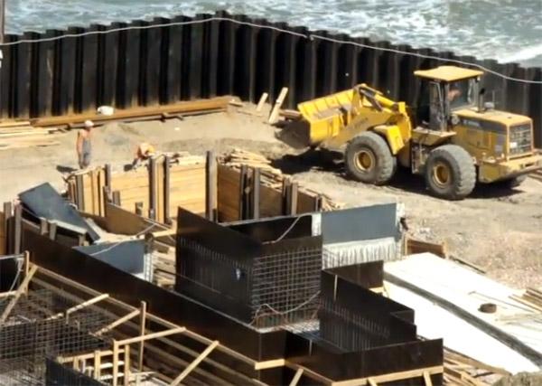 работы по строительству Керченского моста