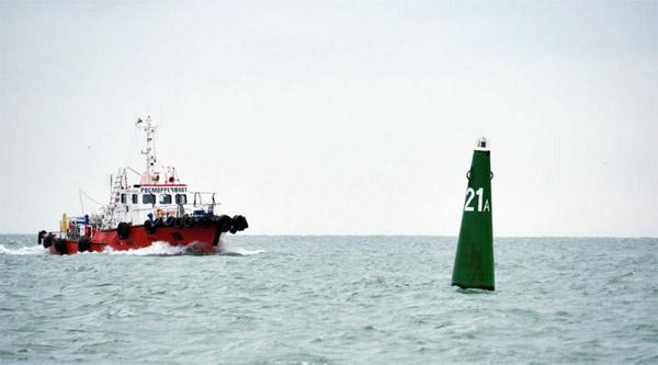 судоходство в Керчинском проливе