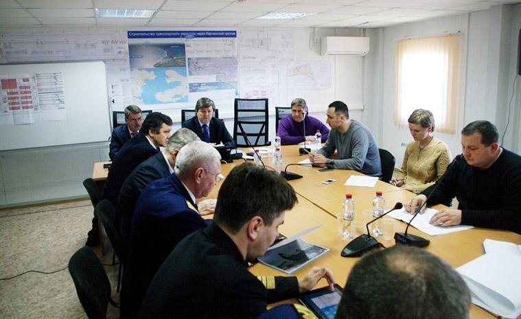 обсуждение запретных зон на Керченском проливе