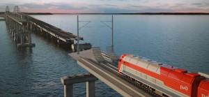 Программа строительства железнодорожных путей к Керченскому мосту одобрена