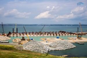 70-ти метровая стела будет установлена на Керченском мосту в Крыму