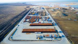 На Керченский мост доставлено пять млн тонн стройматериалов