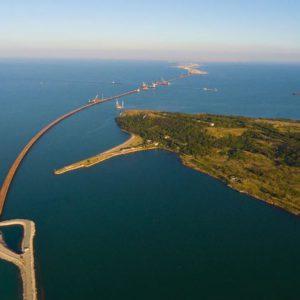 Керченский мост получит разноцветную подсветку