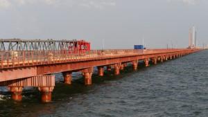 Названа общая стоимость строительства Крымского моста