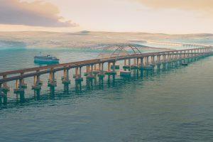За изображение Керченского моста на новых банкнотах проголосовало более 5 тысяч граждан РФ