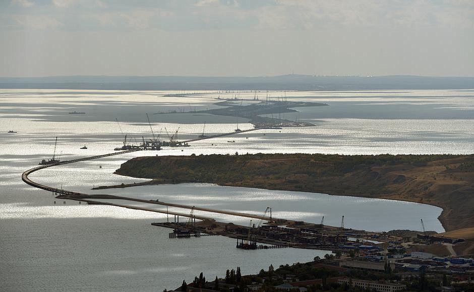 Подрядчиком заявлено об изменении сметной стоимости автопереходак Керченскому мосту