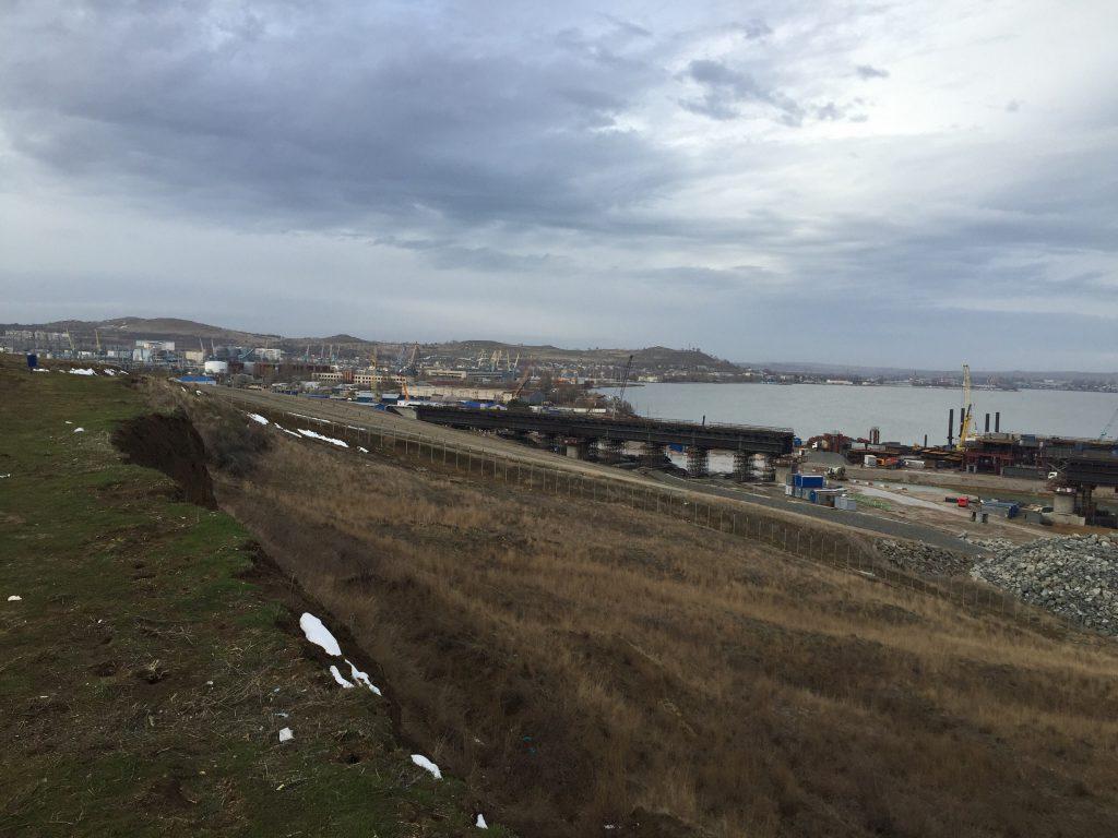 Строительство железнодорожных подходов Керченского моста будет выполняться компанией «Стройгазмонтаж»