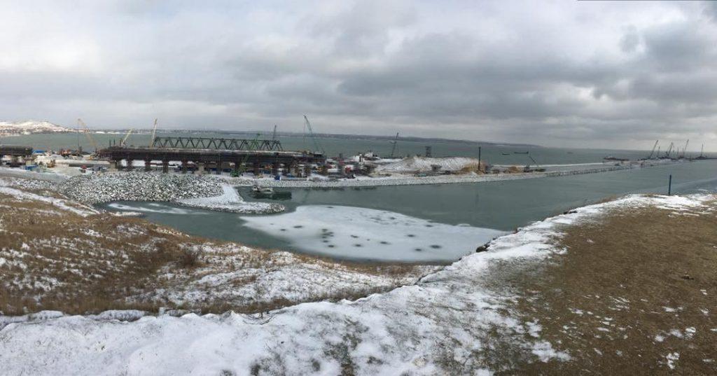 Найден исполнитель строительства железнодорожных подходов к строящемуся в Крыму мосту