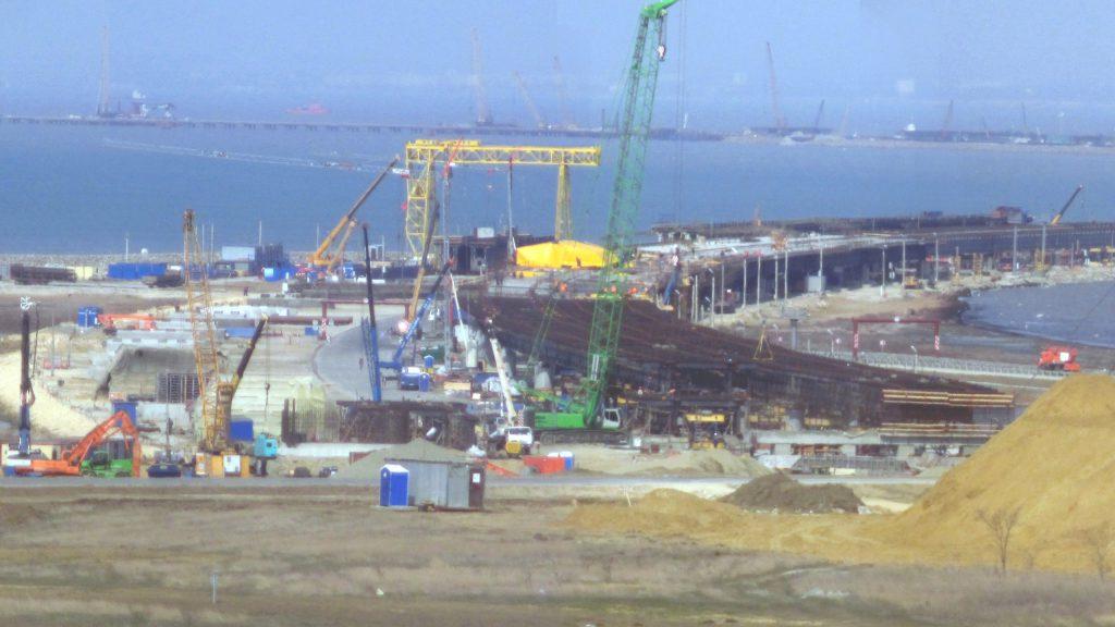Сумма заказов по строительству моста через керченский пролив составила более 3 млрд рублей