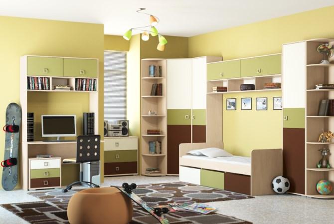 Выбор мебели для детской и про облицовочный кирпич