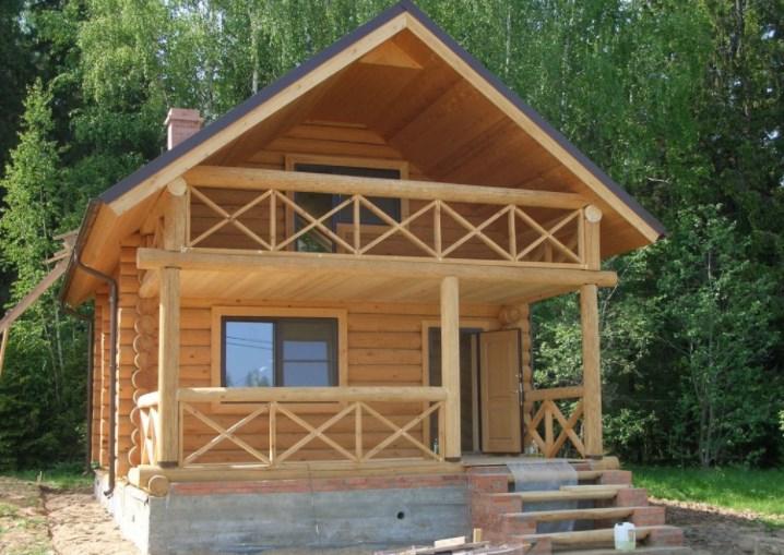 Дома и пристройки к дому и на частный участок из дерева