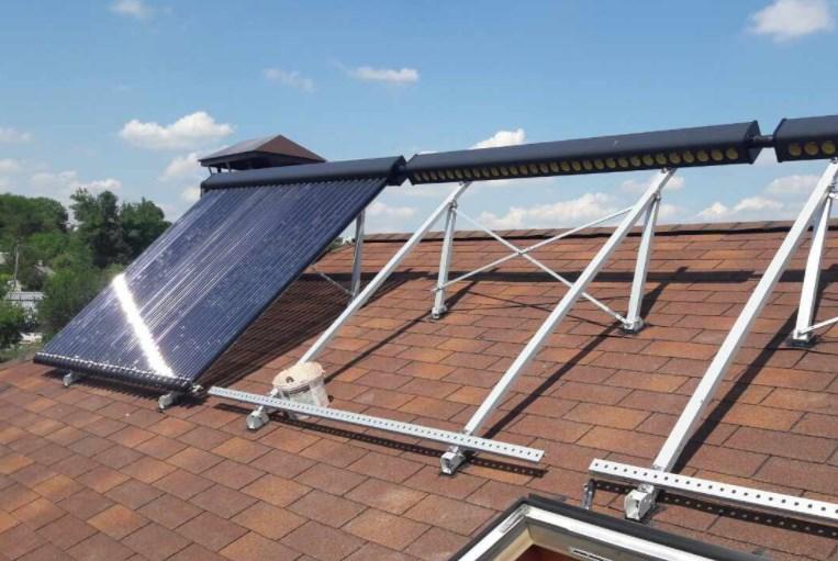 Солнечные водонагреватели в «Правильное Электропитание»