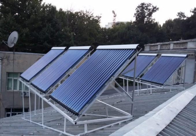 Солнечные водонагреватели в «Правильное Электропитание» 2