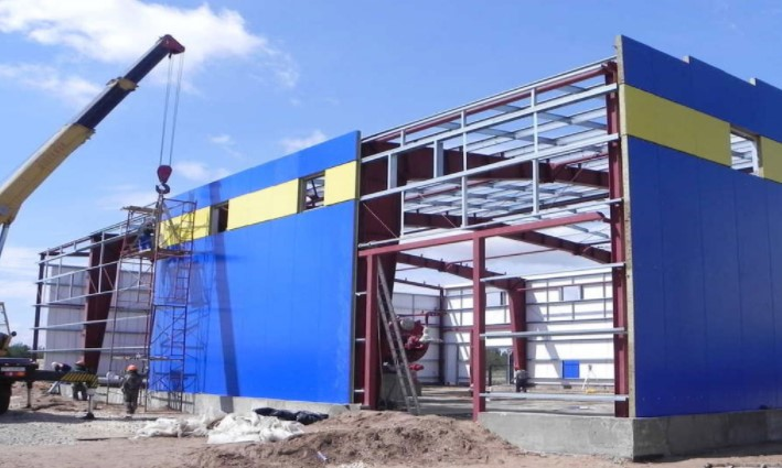 Строительство металлокаркасных зданий – делаем качественно
