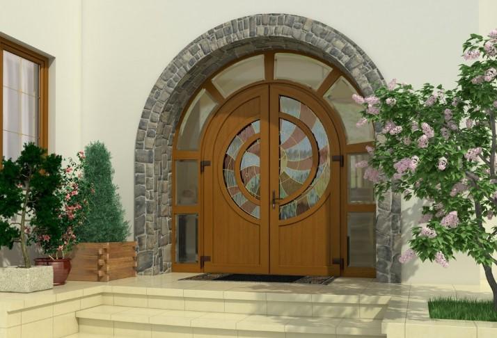 Современные входные двери ПВХ – качество за разумные деньги