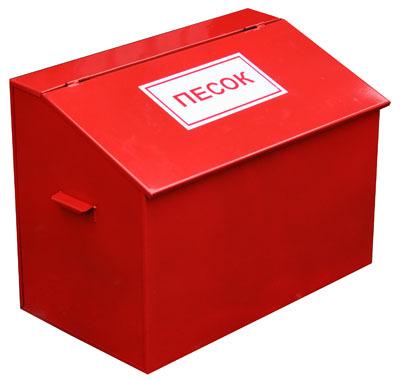 Пожарные ящики для песка: особенности комплектации, требования