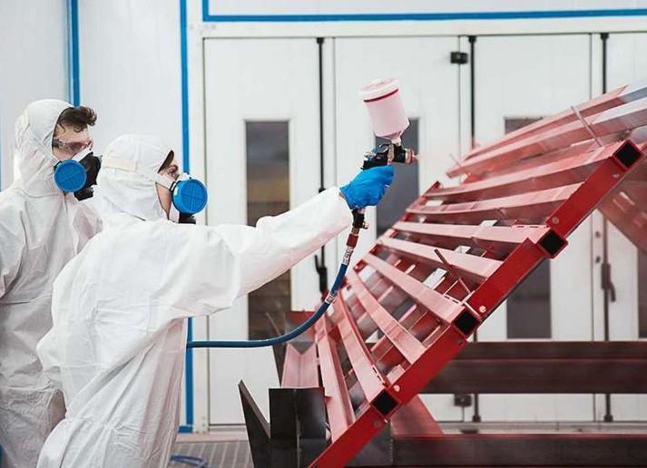 Как проходит покраска металлоконструкций? 2