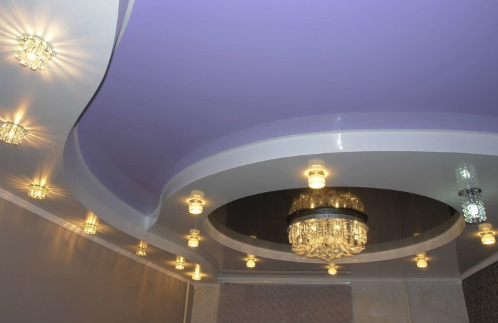 Эксклюзивный натяжной потолок без шума и пыли 2