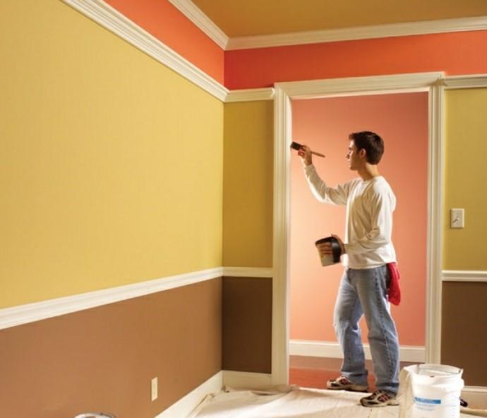 Водоэмульсионная краска для стен – особенности, виды, преимущества