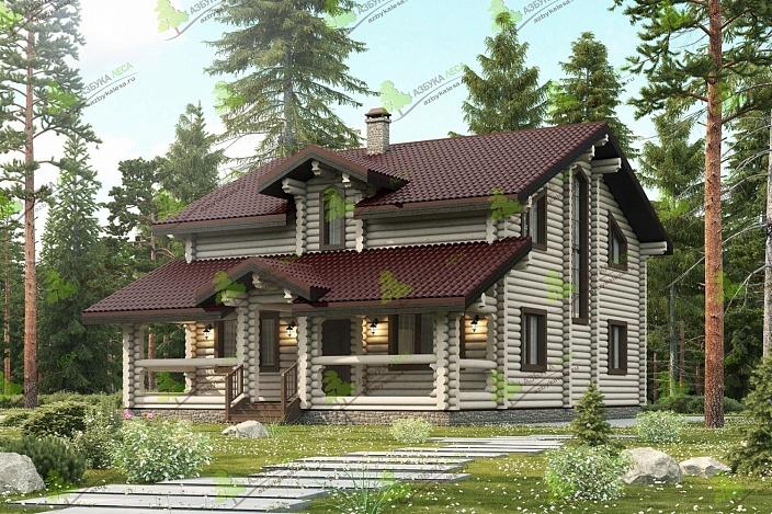 Выбор стиля для оформления интерьера в доме из оцилиндрованного бревна