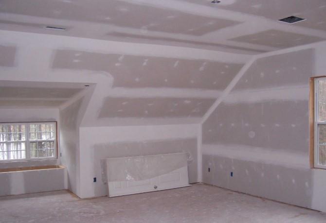 Процесс отделки квартиры гипсокартоном и другими материалами