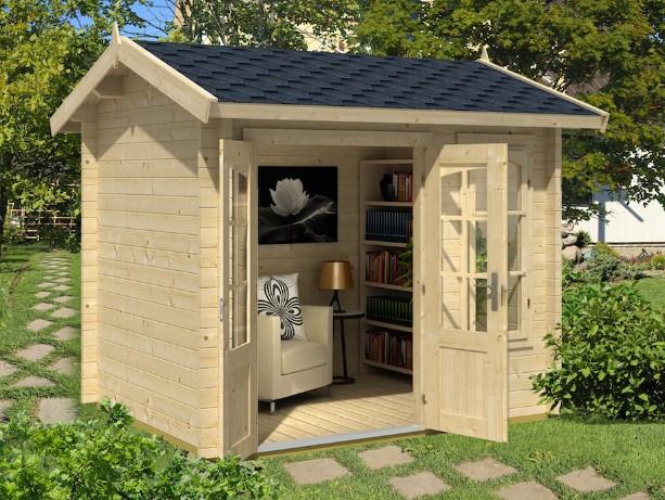 Летний деревянный домик преображает дачную жизнь