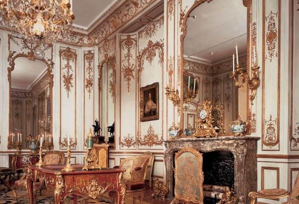 Монументальность интерьера в стиле барокко