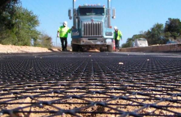Применение геосетки в строительных и дорожных работах