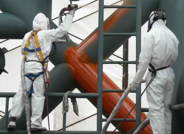 Этапы окраски металлоконструкций