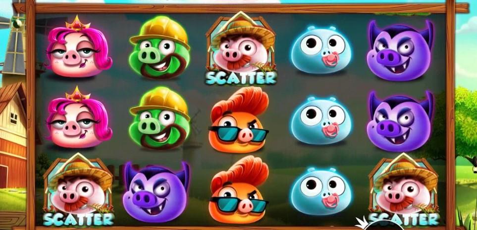 Игровой автомат 7 Piggies