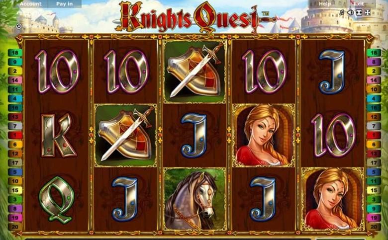 Игровой автомат Knights Quest