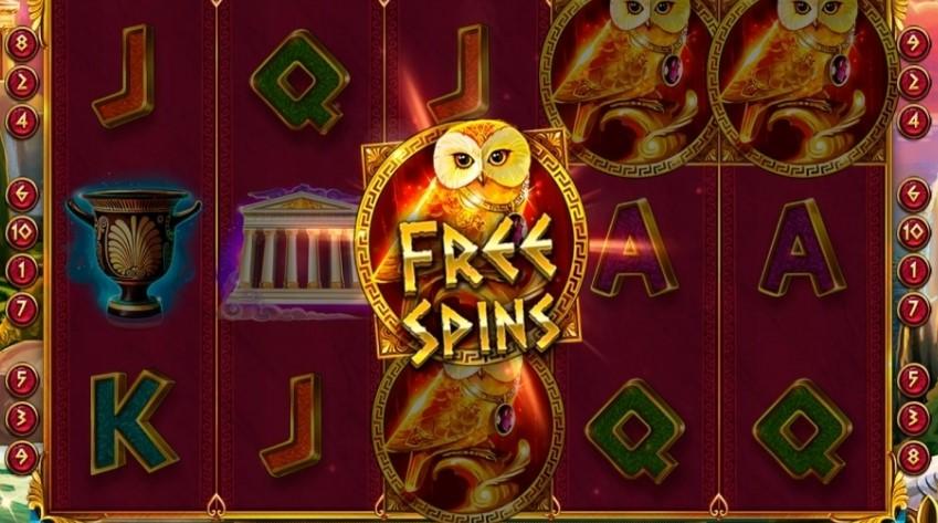 Игровой автомат Golden Owl of Athena