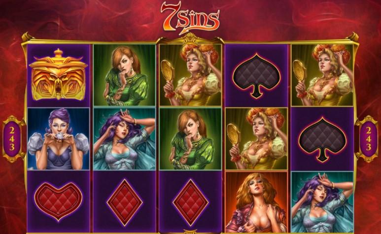 Игровой автомат 7 sins