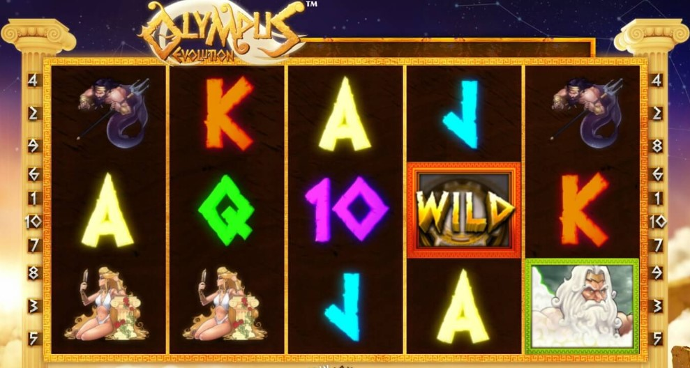 Игровой автомат Olympus Evolution