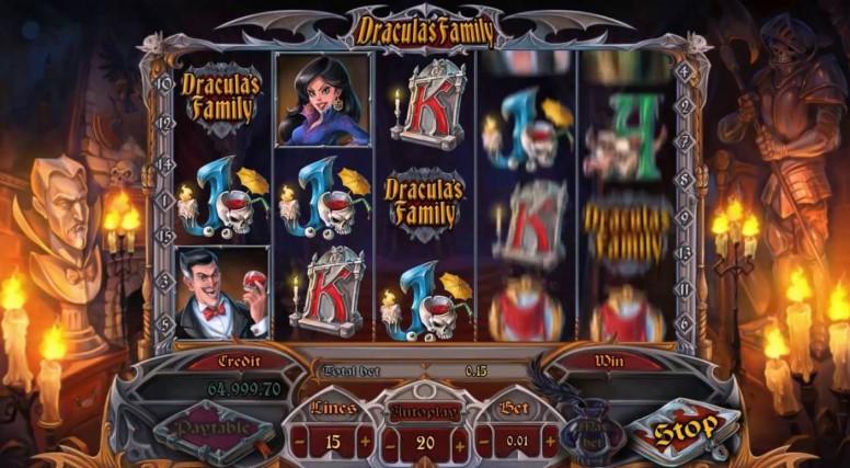 Игровой автомат Dracula's Family