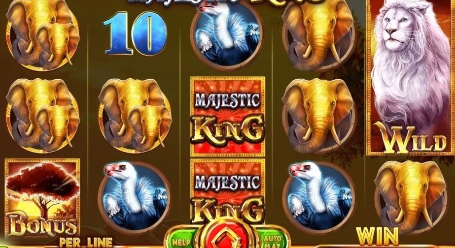 Автомат онлайн Majestic King