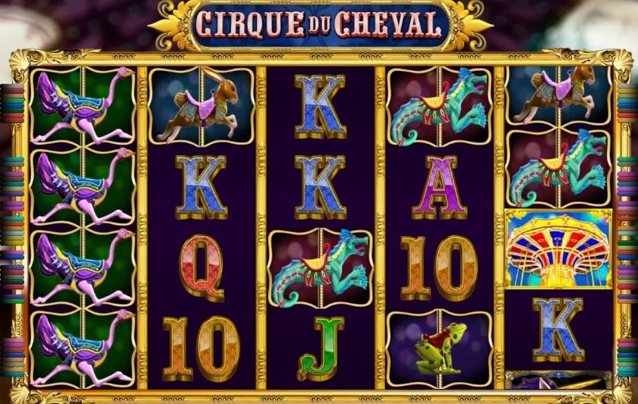 Игровой автомат Cirque du Cheval